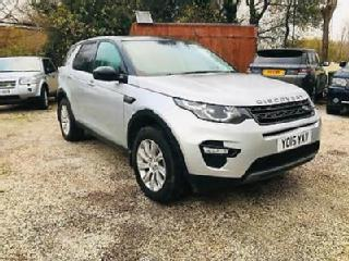 Land Rover Discovery Sport 2.2SD4 190ps 4X4 Auto 2015MY SE Tech