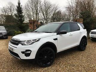 LAND ROVER DISCOVERY SPORT 2.2SD4 190ps 4X4 Auto HSE LUXURY + BLACK PACK