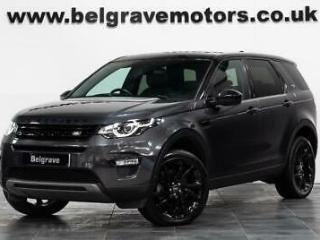 Land Rover Discovery Sport TD4 AUTO HSE LUXURY BLACK PACK PAN ROOF 20 ALLOYS 7