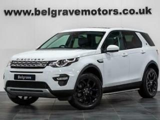 Land Rover Discovery Sport TD4 HSE AUTO PAN ROOF 7 SEATS SIDE STEPS BLACK PACK A