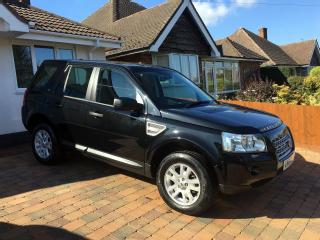 Land Rover Freelander 2 2.2 TD4 XS automatic 190 BHP Black
