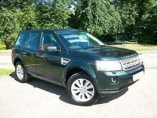 Land Rover Freelander 2 2.2Sd4 HSE AUTOMATIC AINTREE GREEN