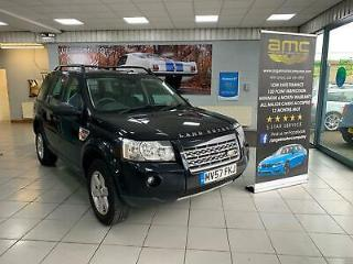 Land Rover Freelander 2 2.2Td4 2007MY GS 2 former keepers service history
