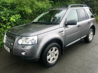 LAND ROVER FREELANDER 2.2 TD4 GS 4X4 5DR 2010 Diesel Automatic in Grey