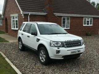 Land Rover Freelander 2 Facelift 62 Plate White 4x4