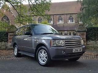 LAND ROVER RANGE ROVER 3.0 Td6 SE AUTO 61500 MILES STUNNING CONDITION not vouge