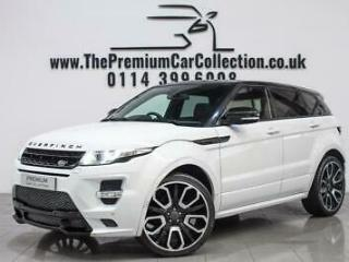 Land Rover Range Rover Evoque SD4 DYNAMIC LUX OVERFINCH PAN ROOF SAT NAV DUAL VI