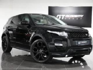 Land Rover Range Rover Evoque SD4 DYNAMIC LUX PAN ROOF TV BLACK PACK FSH