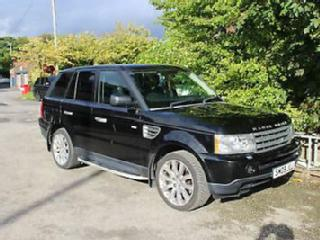 Land Rover Range Rover Sport 2.7TD V6 auto 2009MY HSE TOP SPEC ONLY 88K MILES