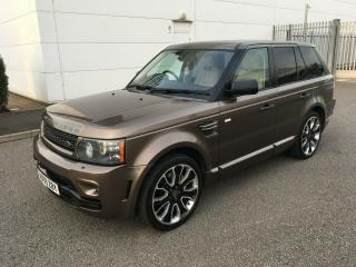 LAND ROVER RANGE ROVER SPORT 3.0 TDV6 OVERFINCH GTS + FULLY LOADED