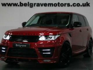 Land Rover Range Rover Sport SDV6 HSE PAN ROOF FULL HAWKE BODYSTYLING NOW SOLD