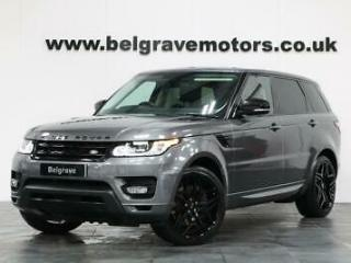 Land Rover Range Rover Sport SDV6 HSE PAN ROOF 22 AUTOBIOGRAPHY STEALTH ALLOYS