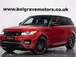 Land Rover Range Rover Sport SDV8 AUTOBIOGRAPHY DYNAMIC ONE OWNER 22 STEALTH AL