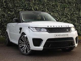 Land Rover Range Rover Sport Upgrade EXCLUSIVE SVR Body Styling Body Kit ONLY