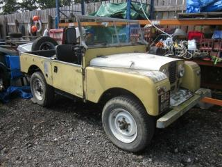 Land Rover series1 1954 O/drive Lpg Gas 3.0 6cyl best offer by end Jan buys it