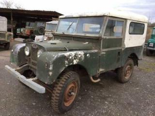 Land Rover Series 1 86 inch Great Chassis and Bulkhead