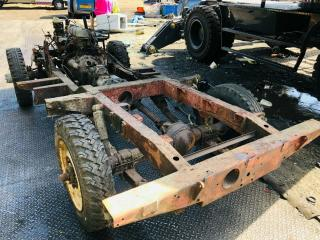 LAND ROVER Series 2A 88 inch Rolling Chassis engine,shaft and differential