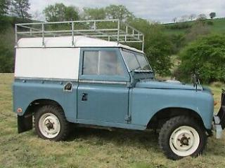 Land Rover Series 3 88' 1975 Slate Blue Hardtop