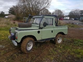 land rover series 3 88 truck cab
