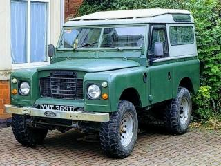Land Rover Series 3 III 88 swb 200Tdi with Power Steering TAX and MOT exempt