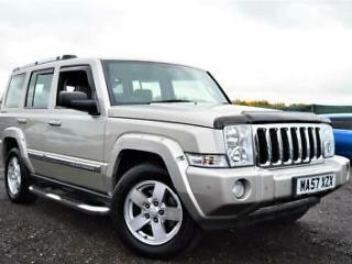 LATE 2007 57 JEEP COMMANDER 3.0 CRD DIESEL AUTOMATIC LIMITED 7 SEATER PX SWAP