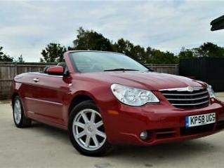 LATE 2008 58 CHRYSLER SEBRING 2.0 CRD LIMITED 4 SEATER CONVERTIBLE DIESEL MANUAL