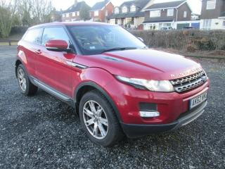 LATE 2012 RANGE ROVER EVOQUE PURE ED4 LEATHER 2WD S/HISTORY 6 SPEED CHEAP TAX