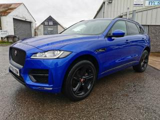 LATE 2018 JAGUAR F PACE R SPORT AWD DAMAGED REPAIRABLE FOR SALE