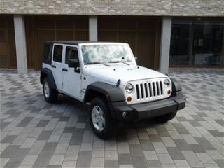 Left Hand Drive Jeep 2012 WANGLER SPORT UNLIMITED AUTO CRD LHD For Sale London LHD Centre ref 1585