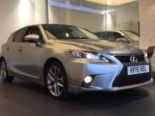 Lexus CT 200h 1.8 Advance Plus 5dr CVT Auto Hatchback 2015, 17500 miles, £14790