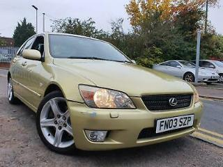 Lexus IS 200 2.0 auto SE *VERY LOW MILEAGE*IDEAL EXAMPLE FOR YEAR*GREAT COLOUR