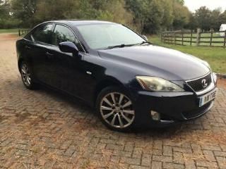 LEXUS IS 220D 2.2 TURBO DIESEL SE L 2007 HIGH SPEC + 177 BHP + DIESEL
