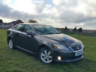 Lexus IS 220d 2.2TD SE 2.2 diesel 2009 96k mileage 8 month mot 2 keys
