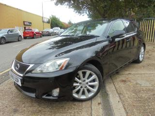Lexus IS 250 2.5 SE I 4dr SAT/NAV,R/CAMERA/F/LEATHER 2010, 83000 miles, £5490