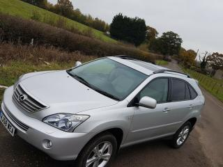 LEXUS RX400 H SE CVT HYBRID FULLY LOADED SERVICE HISTORY ULEZ GREAT CONDITION
