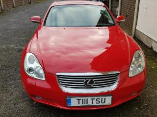 Lexus SC430 Red 2001 Sports Car great Condition get your summer Car