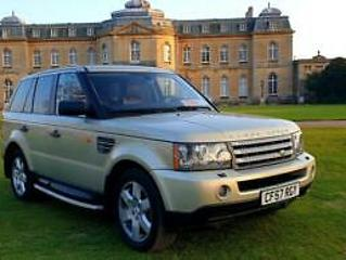 LHD 2008 RANGE ROVER SPORT 3.6 TDV8 4X4, Diesel, AUTOMATIC, LEFT HAND DRIVE