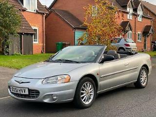 LHD Chrysler Sebring Cabrio 2.7 auto LX left hand drive