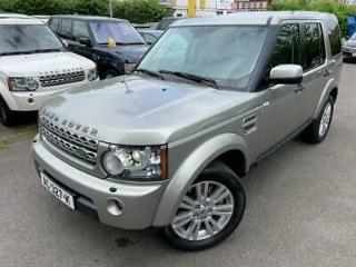 LHD Left Hand Drive 2010 Land Rover Discovery 4 3.0 SD V6 HSE Beige 4x4 5dr
