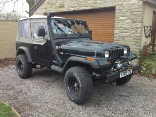 LHD Left Hand Drive Jeep Wrangler Great fun truck for home or abroad Low mileage