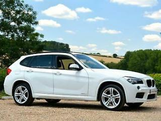 LOVELY 2012 BMW X1 2.0 18D M SPORT XDRIVE 5DR DIESEL AUTOMATIC