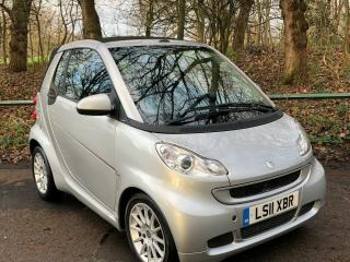 Lovely low mileage Smart ForTwo Passion Cabriolet. 25700 miles with history