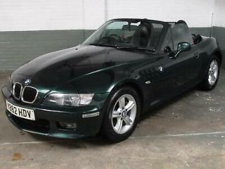 Mar 2001 'Y BMW Z3 2.2 170 BHP 6 CYLINDER ROADSTER CONVERTIBLE * LEATHER * 2 Key