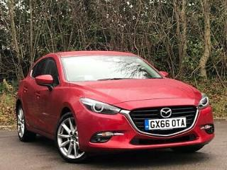 MAZDA 2.0 SPORT NAV 5DR AUTO RED