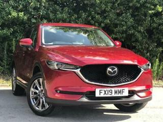 MAZDA 2.2D SPORT NAV PLUS 5DR SOUL RED