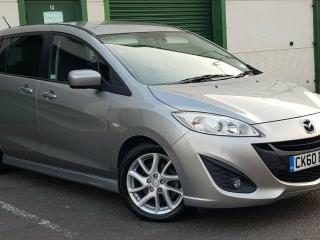MAZDA 5 SPORT 2.0 PETROL 91K FSH 60 REG LEATHER! ELECTRIC DOORS! NEW SHAPE! 2010