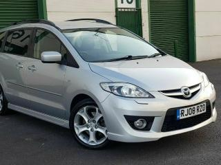 MAZDA 5 SPORT 2.0 PETROL A MERE 87K! FSH 08 REG LEATHER! ELECTRIC DOORS! XENONS!