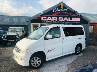 MAZDA BONGO 2.0 AUTOMATIC MOTORHOME CAMPER VAN LOW MILEAGE PARTX WELCOME