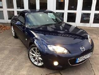 Mazda MX 5 2.0i 158bhp 2012 Roadster Sport Tech Coupe blue