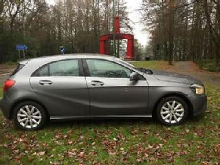Mercedes Benz A180 1.5CDI 109ps Blue F 2013/63 SE in Mountain Grey